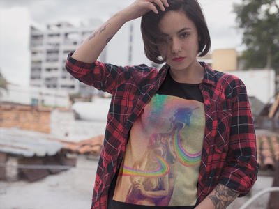 Rainbow Acid T-Shirt