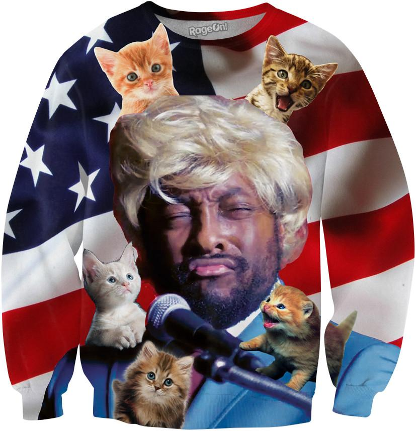 will.i.am. Trump Crewneck Sweatshirt