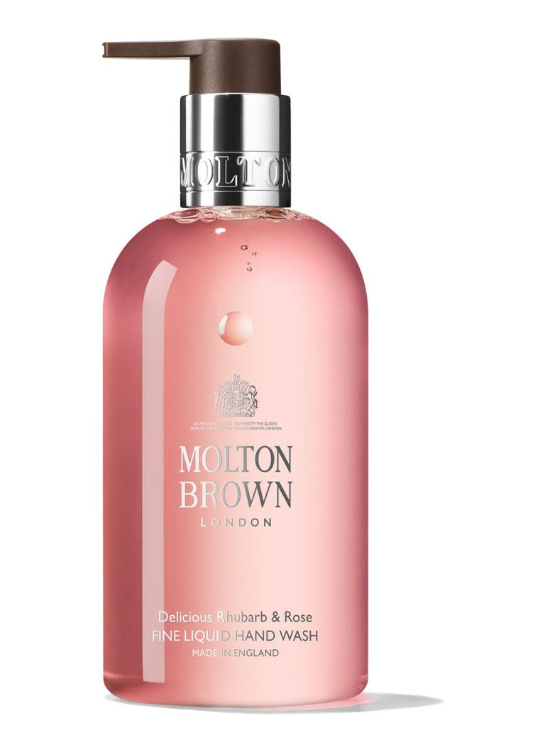 MOLTON BROWN 300ML RHUBARB & ROSE HAND WASH online bestellen - Cosmonde