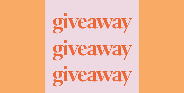Current Giveaway + Guidelines