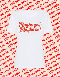 still wearable – maybe yes maybe no shirt