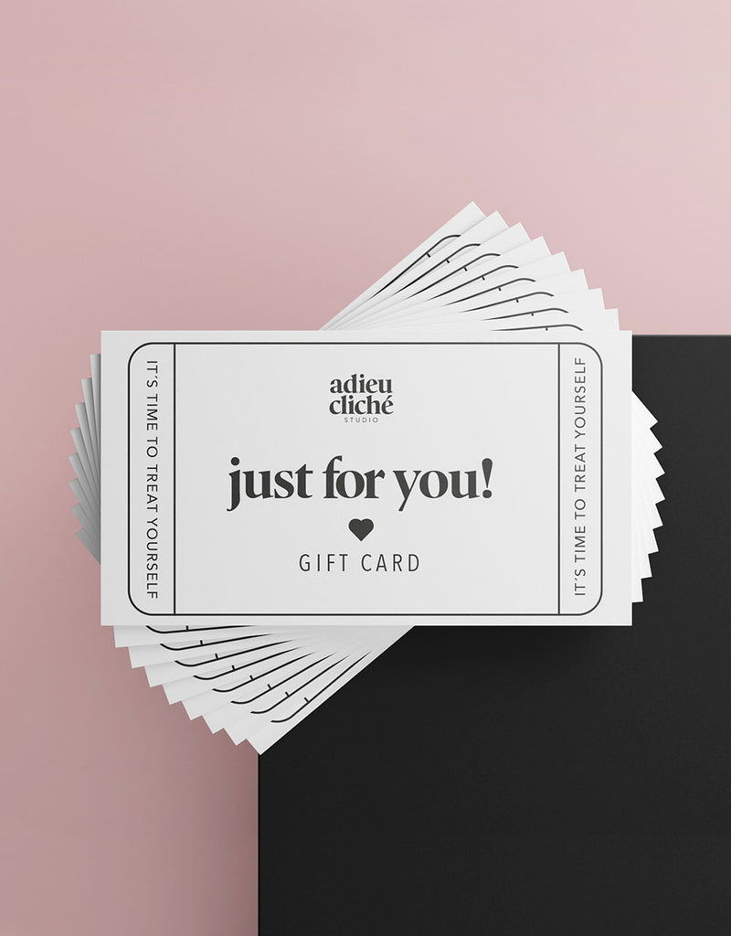 """Just for you"" Gift Card"