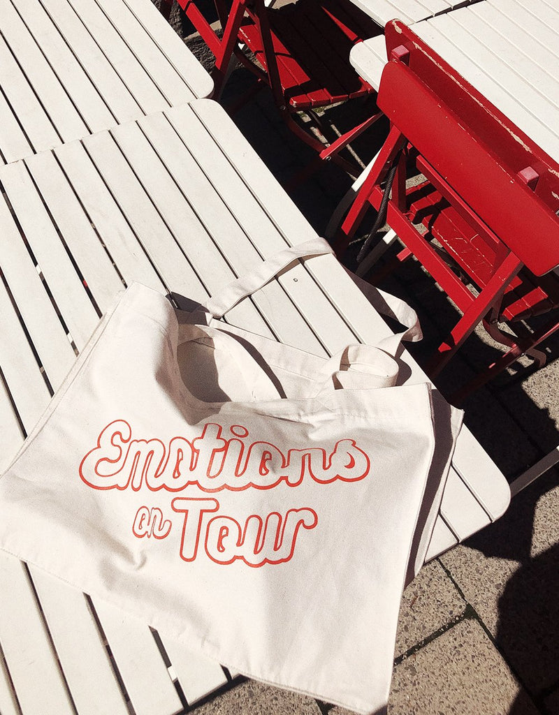 Emotions on Tour bag