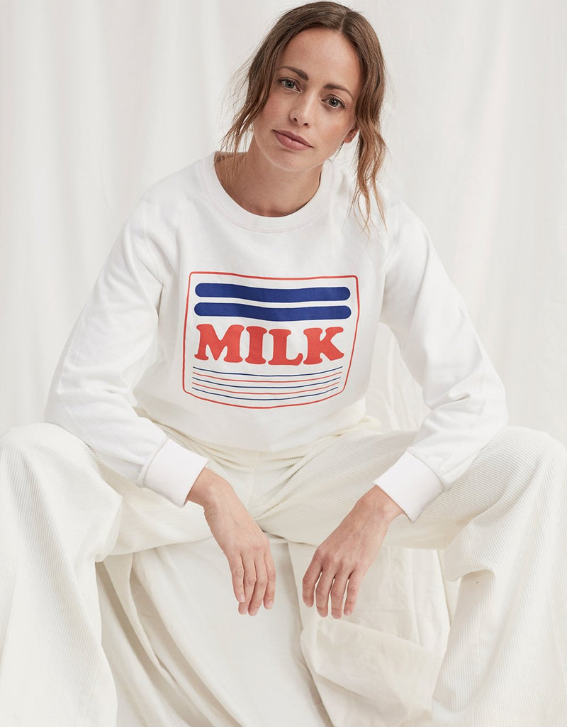 Milk sweater