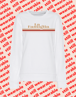 still wearable – la famiglia sweater