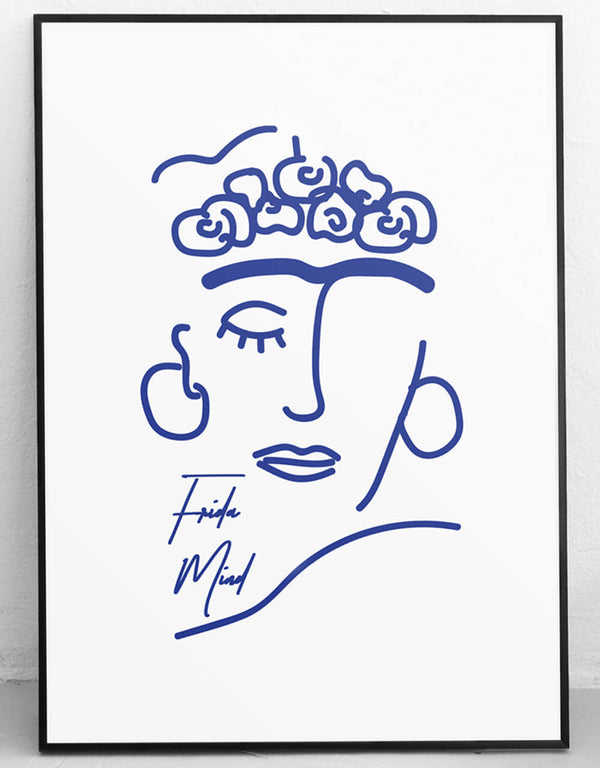 frida mind artprint