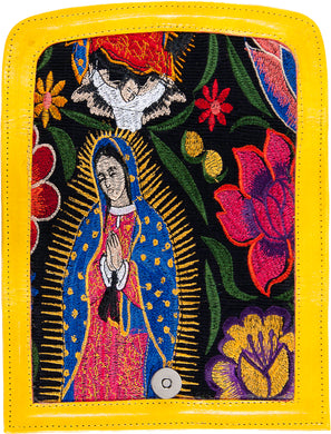 Virgin Mary Bordada Bolsa de Mano - Virgin Mary Handbag
