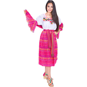Traditional Indita Costume imp-74223-Pink