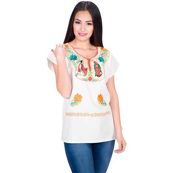 Embroidered Artisan Cotton Blouse imp-77176