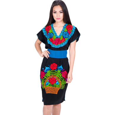 Embroidered Chiapas Style Dress imp-78011