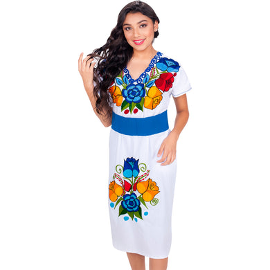 Embroidered Chiapas Style Dress imp-78013
