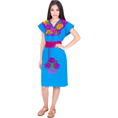 Embroidered Chiapas Style Dress imp-78014