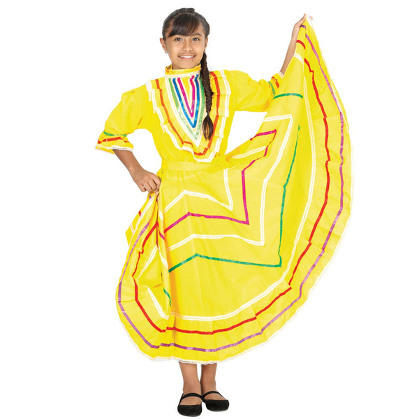 Mexican Folk Dress, Traje folklorico Mexicano