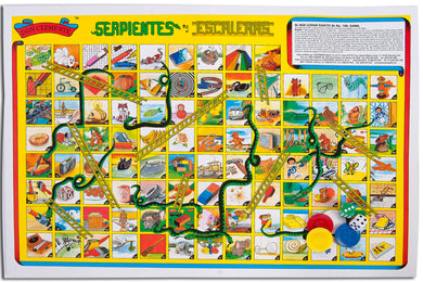 Traditional Mexican Table Game - Serpientes