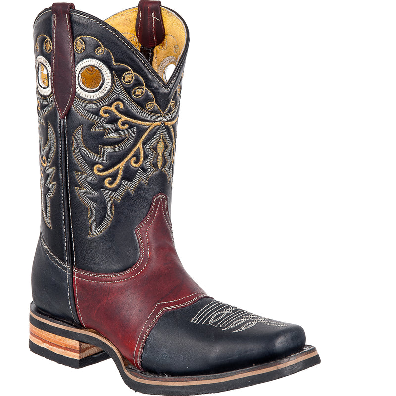 Black ROdeo Boot - bota horma rodeo negro