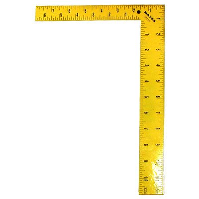 Mayes Level 10222 12-Inch Framing/Utility Steel Square