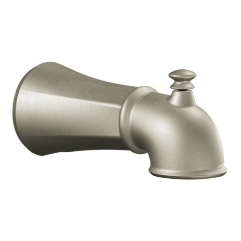 Moen 125753Bn Diverter Spout, Brushed Nickel