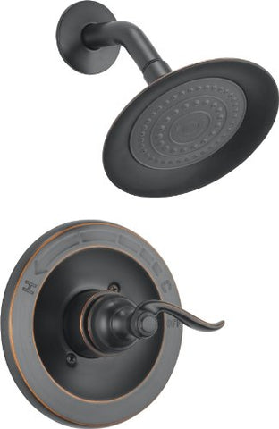 Delta Faucet Bt14296-Ob Windemere Monitor 14 Series Shower Trim, Oil Rubbed Bronze
