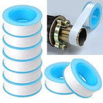 Teflon Tape, Thread Seal Tapesptfe Thread Seal Tape For Plumbers Sealant Tape For Leak Water Pipe Thread 1/2 Inch X 500 Inch (2 Pack/White)