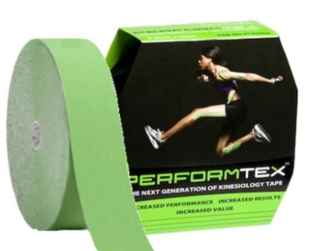 Performtex Kinesiology Tape Bulk Rolls - Speed Green