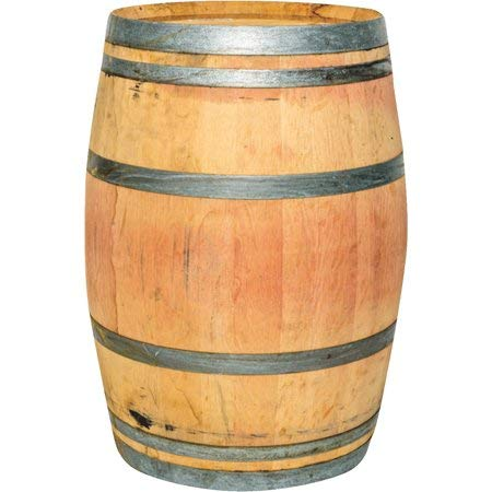 Wine Barrel Real Wood Products Whole Oak Home Kitchen Garden Pup Bbq 59-Gallon 065076 By Dreamsales