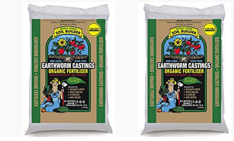 Unco Industries Wiggle Worm Organic Earthworm Castings Fertilizer, Ufvfkl (30 Pounds)