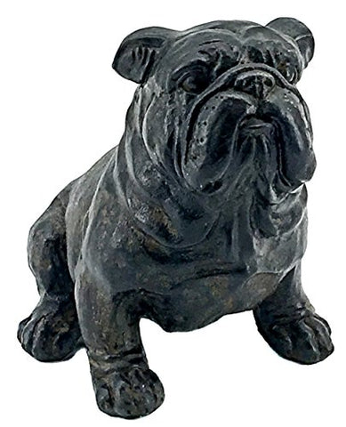 Elaan31 Bulldog Statue Figurine Bust Sculpture Indoor Outdoor Dog