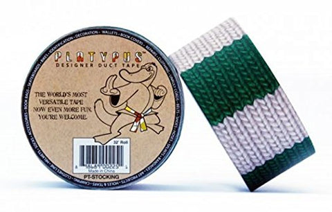 Platypus Designer Duct Tape: 2 In. X 32 Ft. (Wool Stocking)