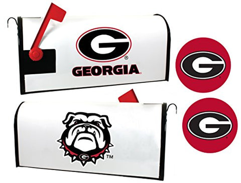 Georgia Bulldogs Magnetic Mailbox Cover & Sticker Set