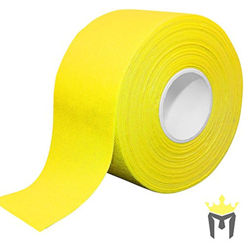 15Yd X 1.5 Meister Premium Athletic Trainer'S Tape For Sports And Medical (50% Longer) - Yellow - 1 Roll
