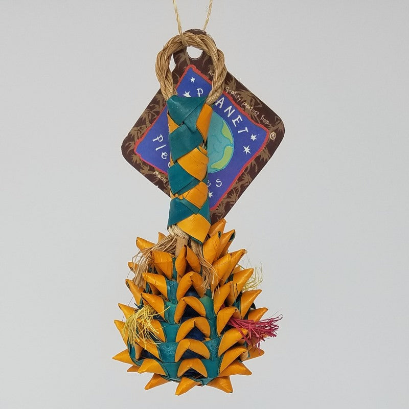 Pineapple Foraging Basket Toy - Small