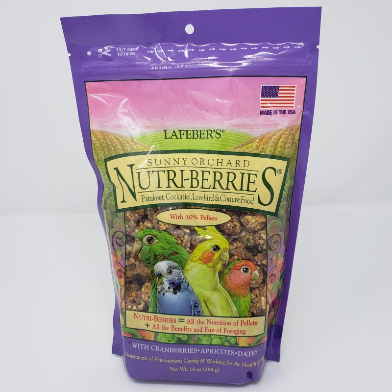 Sunny Orchard Nutri-Berries - Cockatiel - 10 oz.
