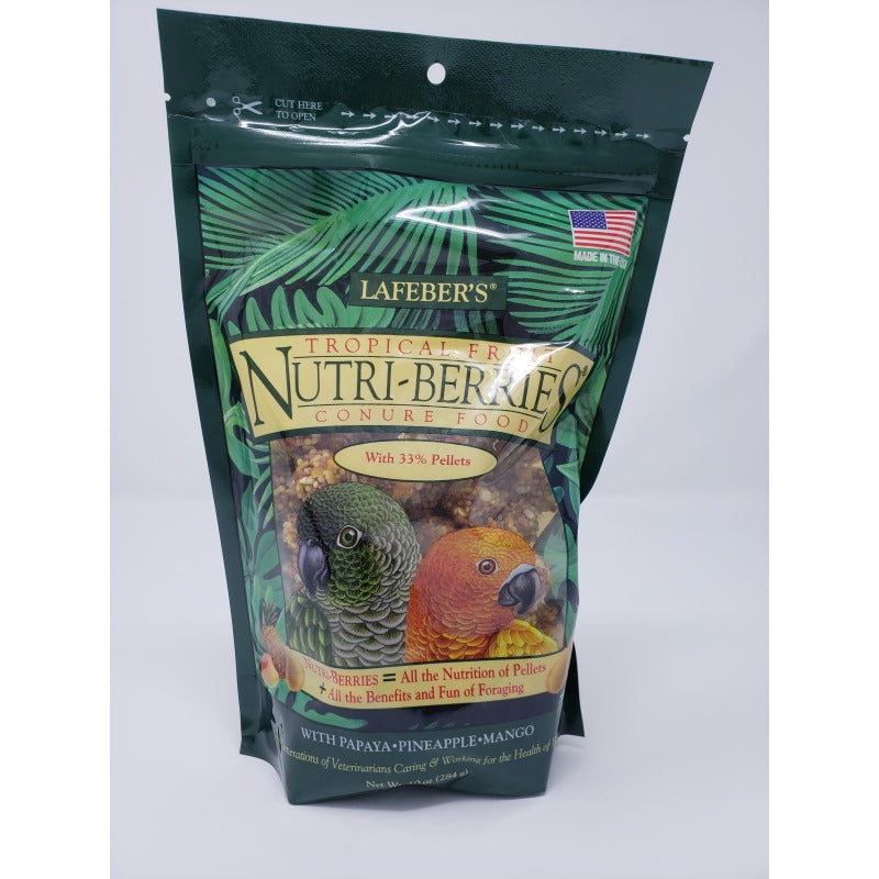 Tropical Fruit Nutri-Berries - Conure - 10 oz.