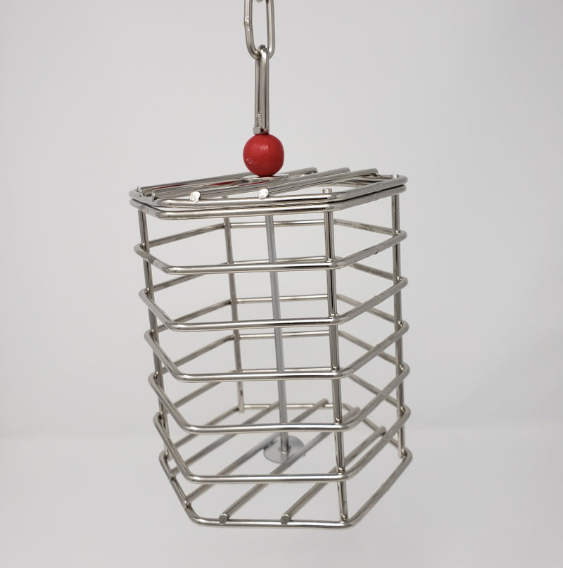 Stainless Steel Baffle Cage - Large