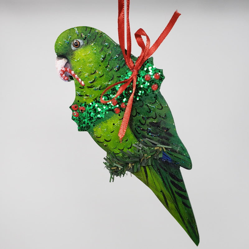 Green Linnie Ornament