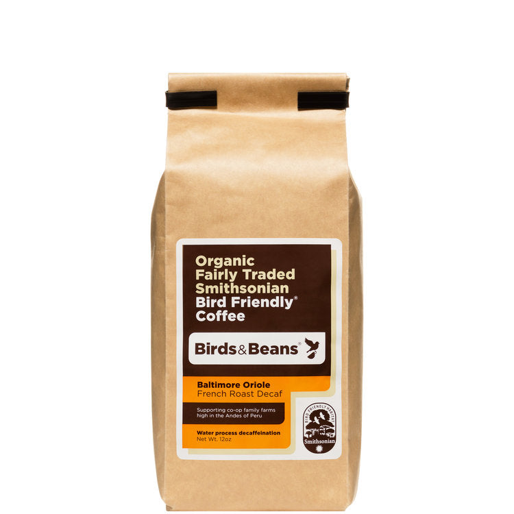 Baltimore Oriole, French Roast Decaf - 12 ounces