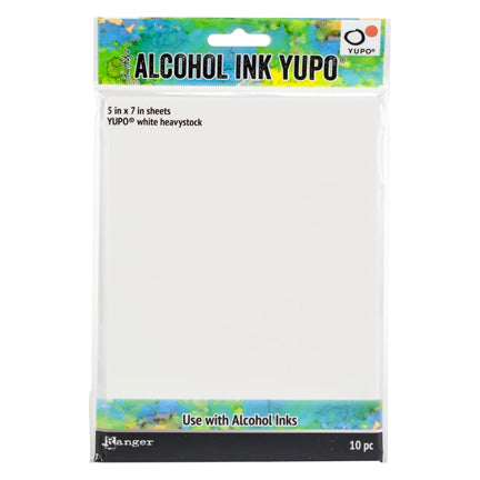Alcohol Ink Yupo Paper by Ranger/Tim Holtz