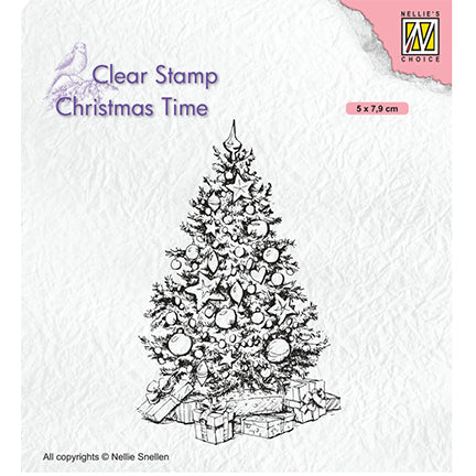Christmas Time Stamps by Nellie's Choice