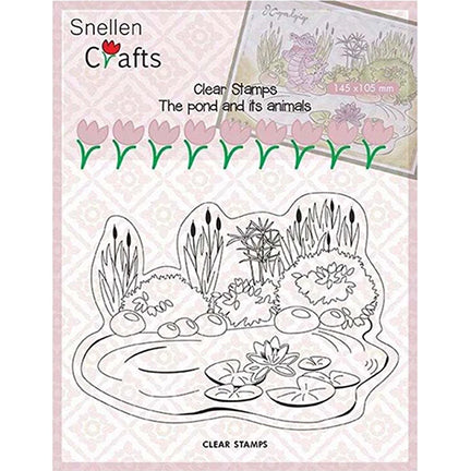 Snellen Crafts Stamps by Nellie's Choice