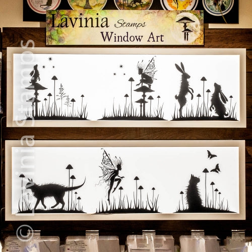 Window Clings by Lavinia Stamps