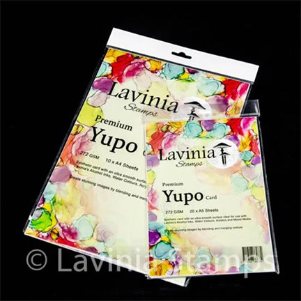 Yupo Card by Lavinia Stamps