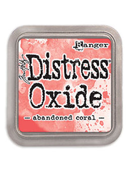 Distress Oxide Abandoned Coral Full Size Ink Pad by Ranger/Tim Holtz