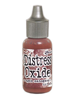 Distress Oxide Aged Mahogany Reinker by Ranger/Tim Holtz
