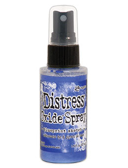 Distress Oxide Blueprint Sketch Ink Spray by Ranger/Tim Holtz