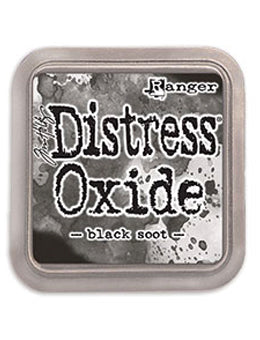 Distress Oxide Black Soot Full Size Ink Pad by Ranger/Tim Holtz