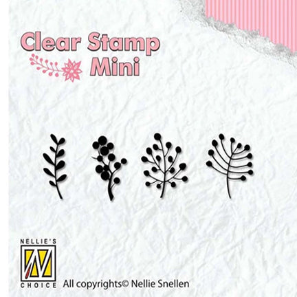 Mini Berries Stamp by Nellie's Choice
