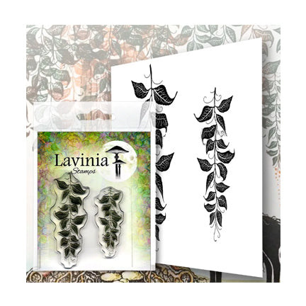 Berry Leaves by Lavinia Stamps