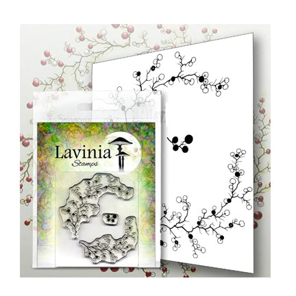 Berry Wreath with Mini Berries by Lavinia Stamps  available at Del Bello's Designs