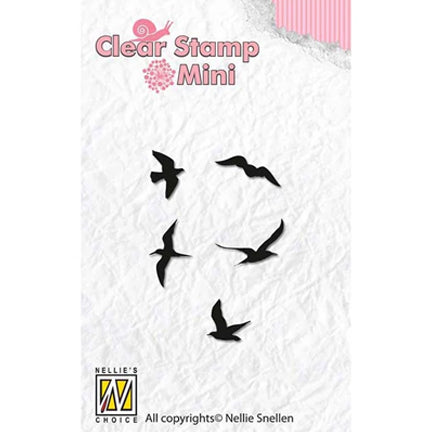 Mini Birds Stamp by Nellie's Choice