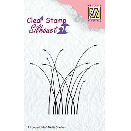Silhouette Grass Stamp by Nellie's Choice